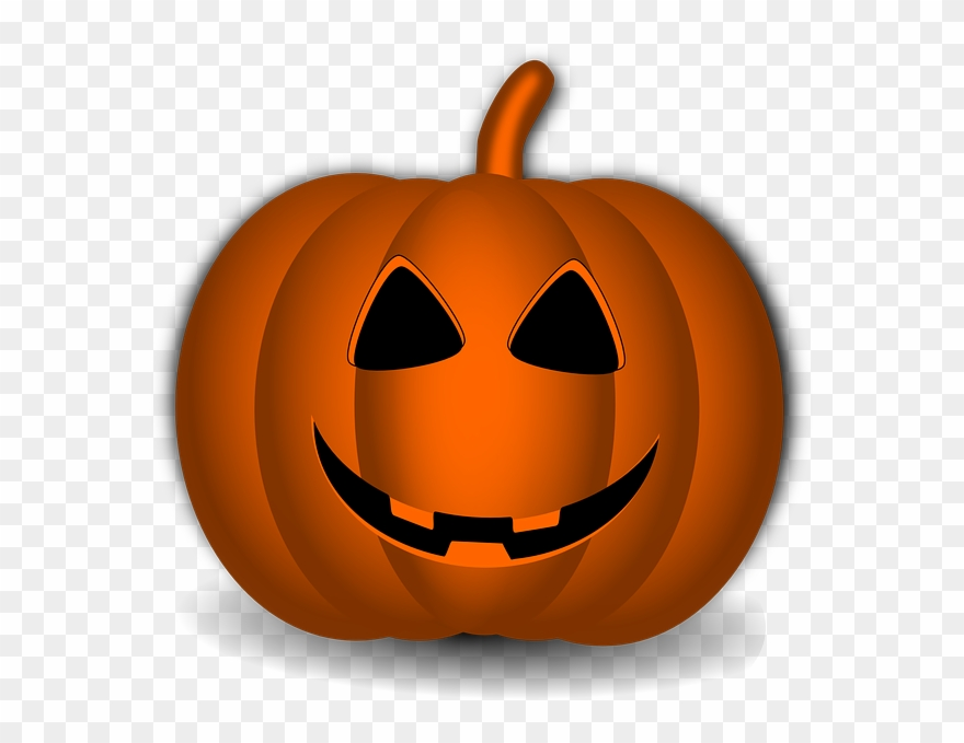 Halloween smiley face clipart png library library Cute Pumpkin Png - Pumpkin Halloween Smiley Face Clipart (#4971834 ... png library library