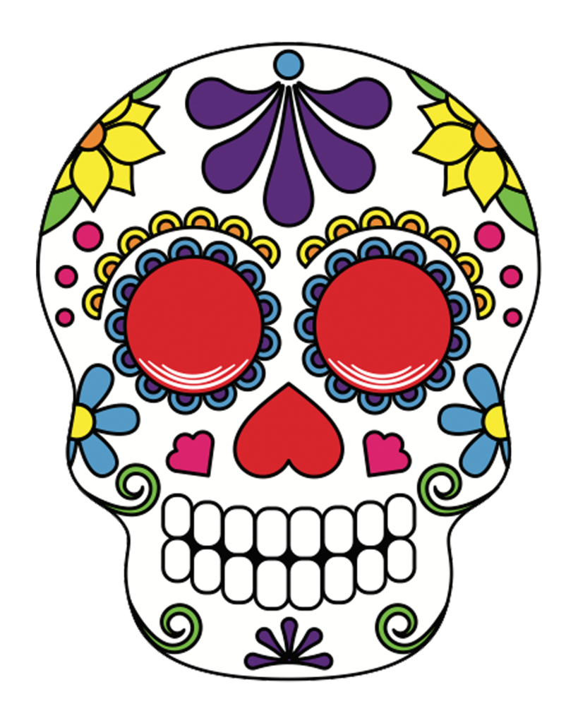 Halloween sugar skull clipart banner freeuse Sugar Skulls – POP Studios Props banner freeuse