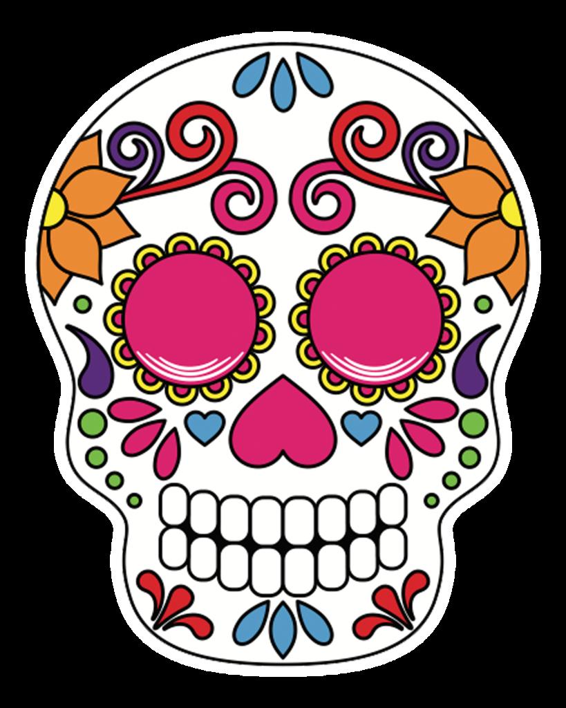 Halloween sugar skull clipart graphic transparent library Sugar Skulls – POP Studios Props graphic transparent library