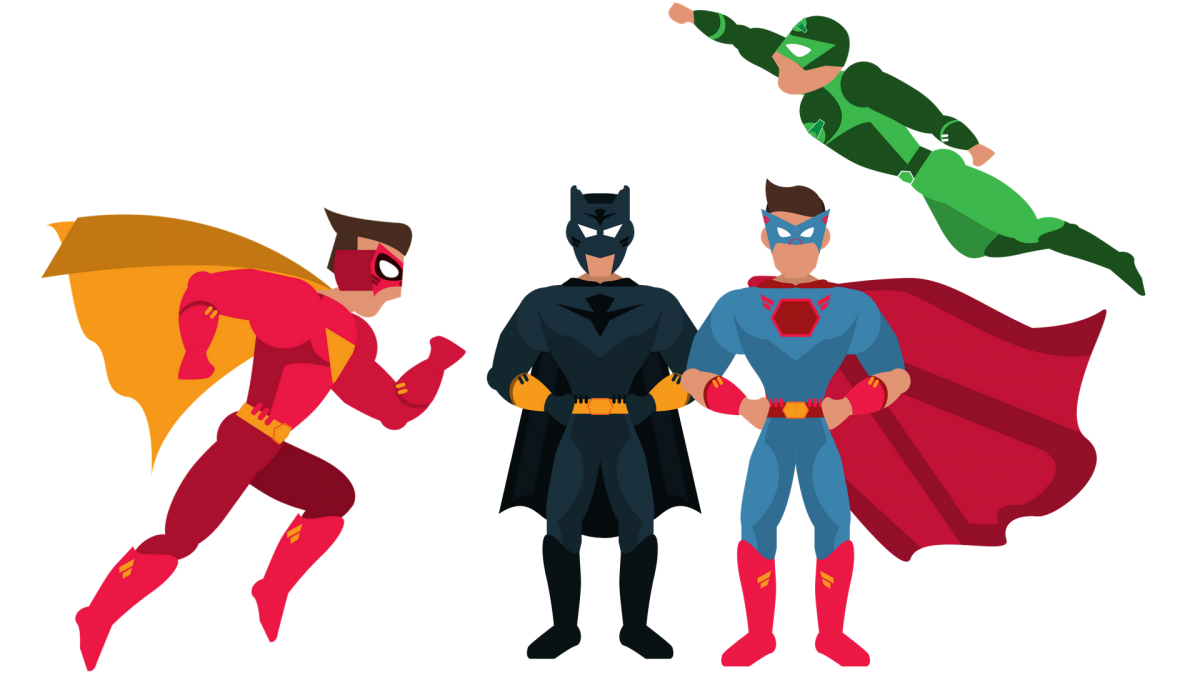 Halloween superheroes clipart vector transparent July School Holidays Superhero Superfest! | BIG4 Beacon Resort vector transparent
