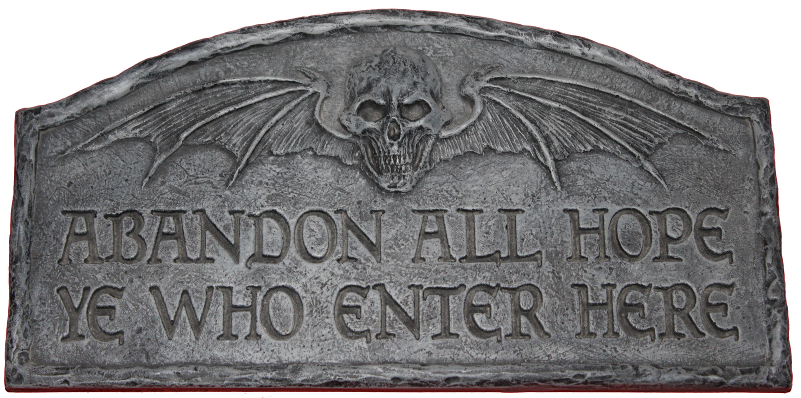 Halloween tombstones sayings clipart jpg black and white download Abandon all hope ye who enter here sign. I want one ... jpg black and white download