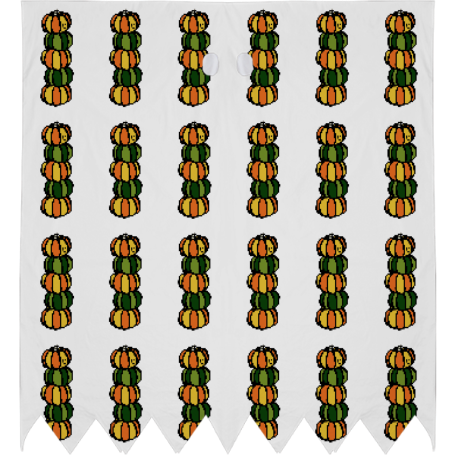 Halloween totem pole black and white clipart banner Shop Halloween Pumpkins Totem Pole Ghost Costume by La Maison Lapino ... banner