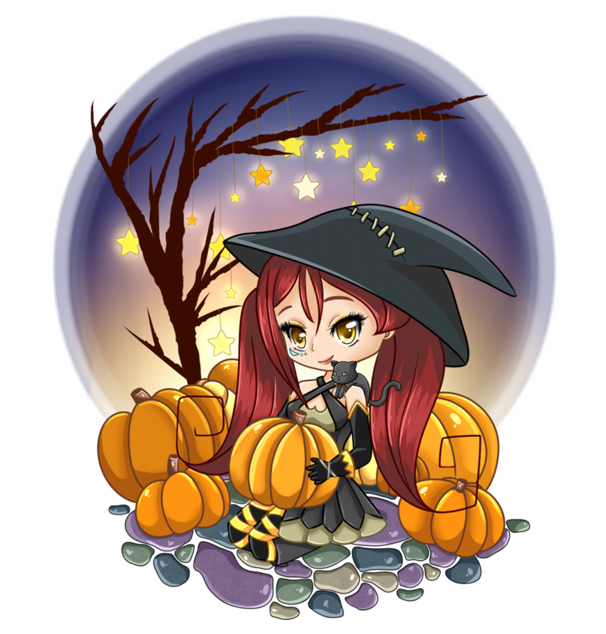 Halloween town pumpkin clipart banner royalty free stock Halloween Town by HinataOC on DeviantArt banner royalty free stock