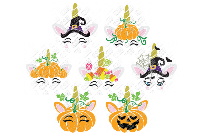 Halloween unicorn clipart graphic Free Halloween Unicorn SVG in SVG/DXF/PNG/JPG/EPS Crafter File ... graphic