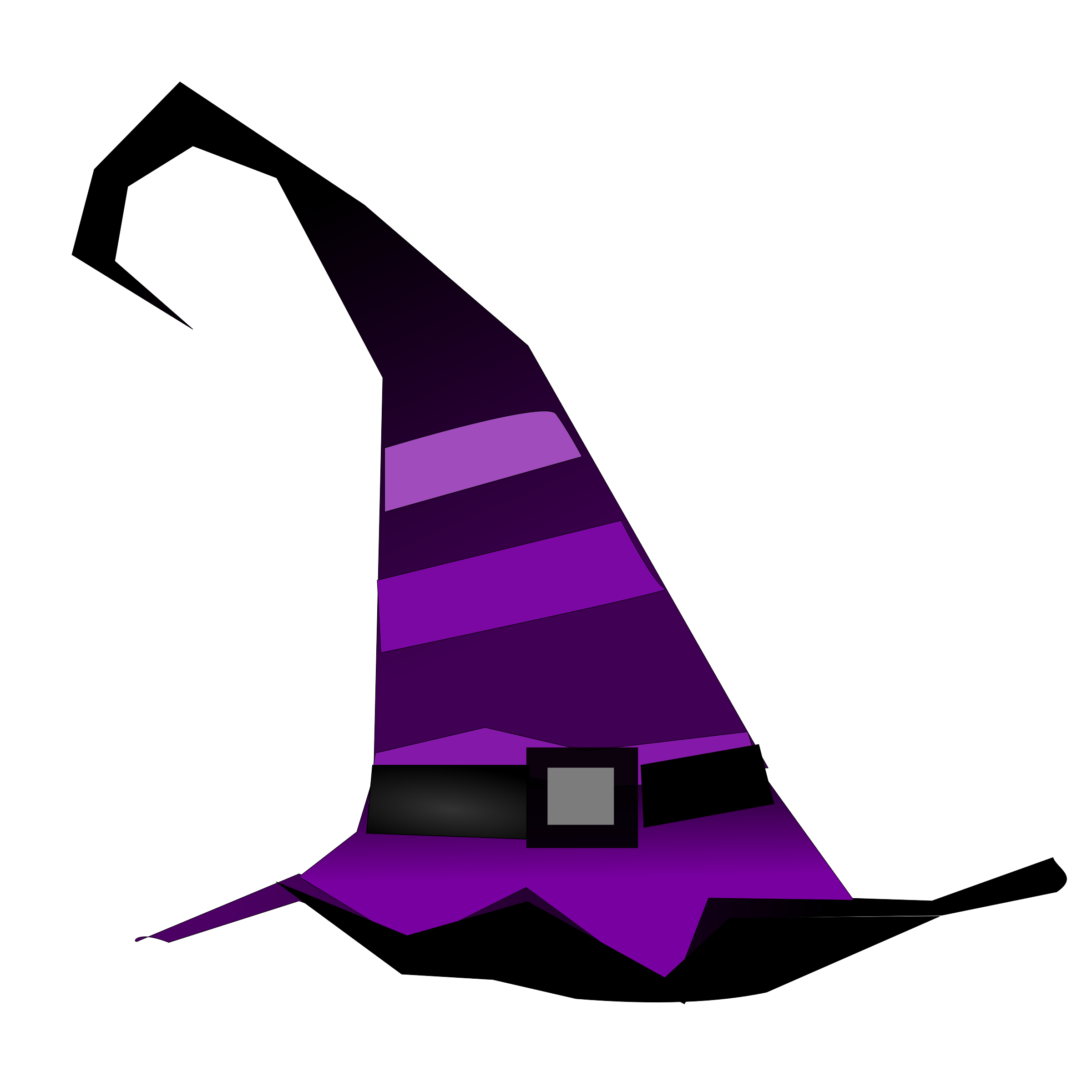Halloween vector clipart clip freeuse stock Clipart - Witch Hat clip freeuse stock