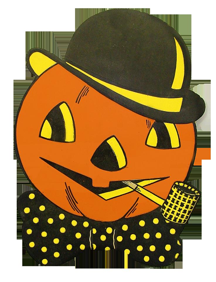 Halloween vintage pumpkin clipart png library library Vintage Halloween | Halloween Graphics | Pinterest | Vintage ... png library library