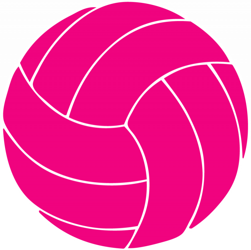 Halloween volleyball clipart banner freeuse 28+ Collection of Pink Volleyball Clipart | High quality, free ... banner freeuse