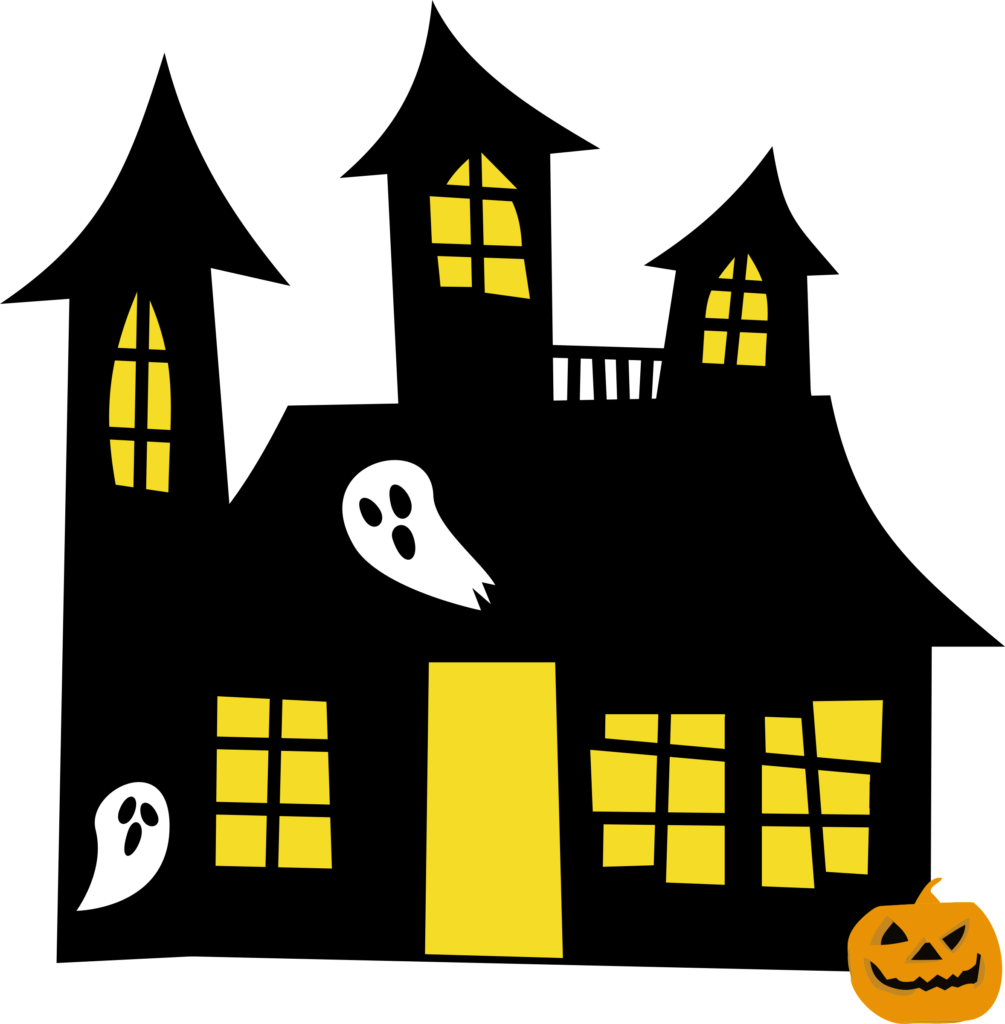 Halloween wedding clipart freeuse Hauntedhouse Yellowwindows Clipart Halloween House | typegoodies.me freeuse