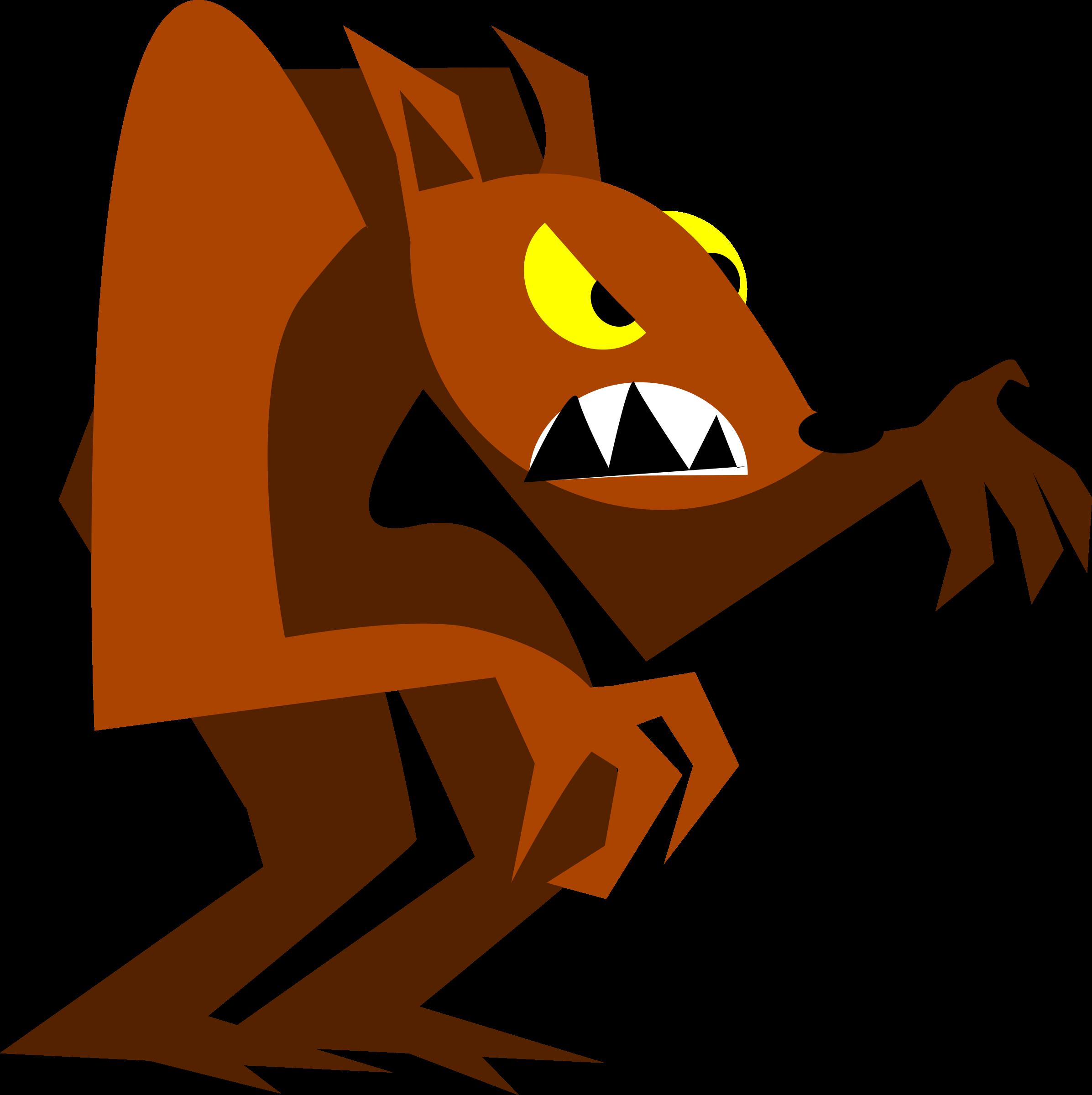Halloween werewolf clipart banner freeuse library Clipart - werewolf banner freeuse library