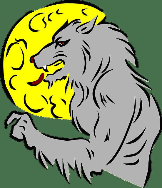 Halloween werewolf clipart svg transparent download Werewolf Jokes - Jokes About Werewolves | Fun Kids Jokes svg transparent download