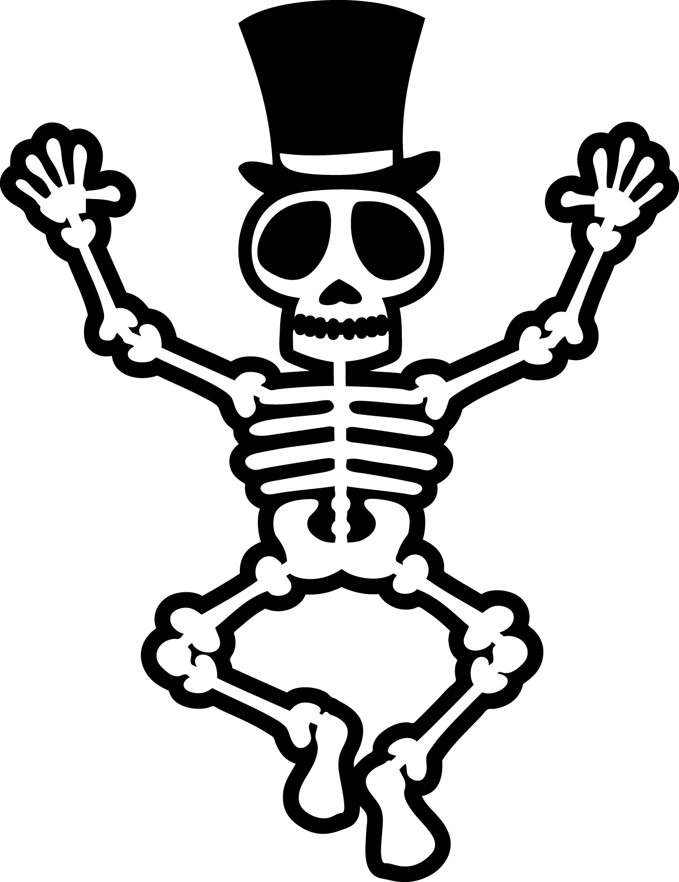 Halloween white clipart png royalty free download Fossil clipart halloween ~ Frames ~ Illustrations ~ HD images ... png royalty free download
