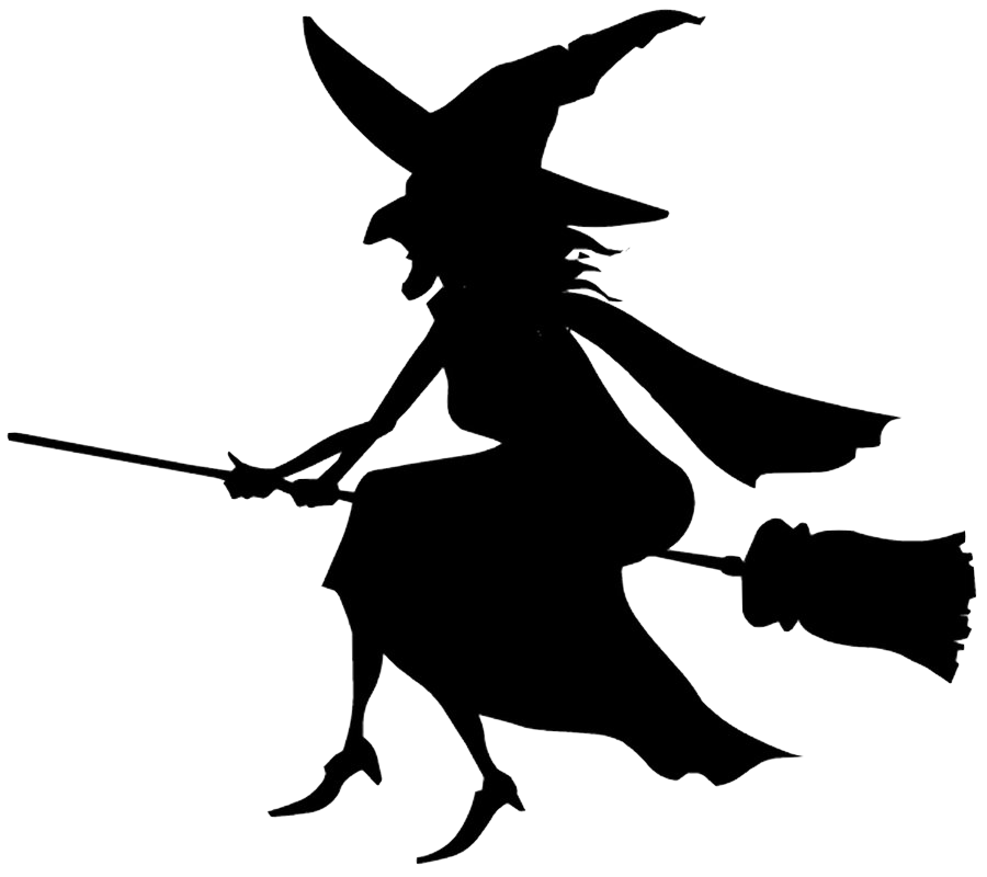 Halloween witch clipart black and white vector freeuse Halloween Transparent PNG Pictures - Free Icons and PNG Backgrounds vector freeuse