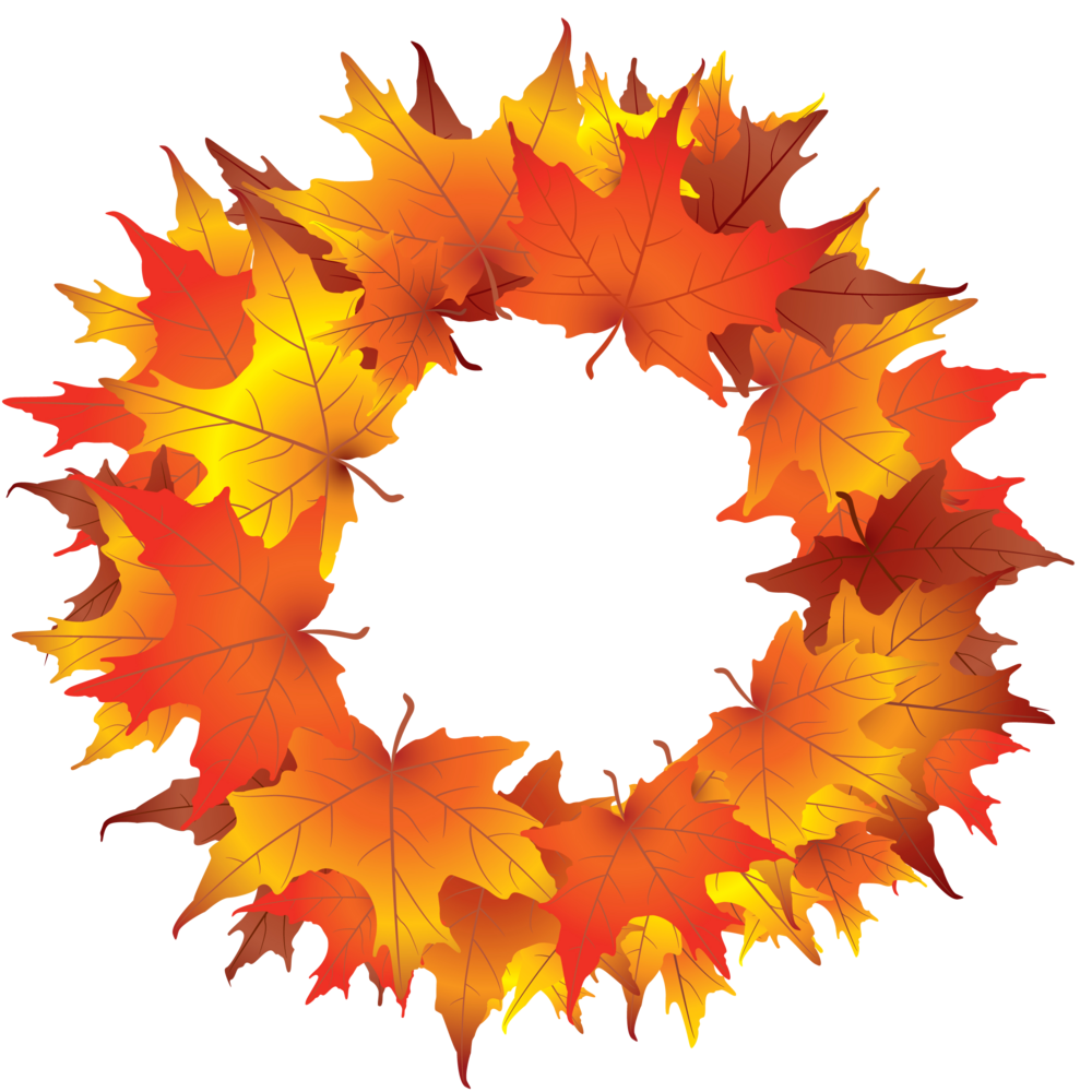 Thanksgiving designs clipart png transparent Free Fall Wreaths Cliparts, Download Free Clip Art, Free Clip Art on ... png transparent