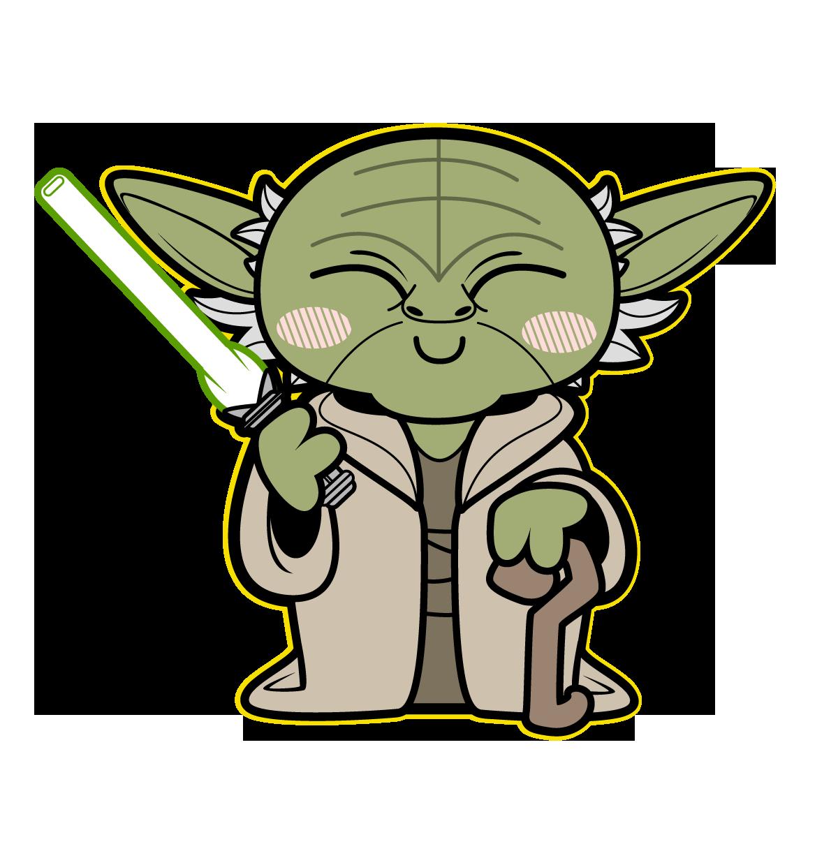 Star wars starbucks clipart clip art library download yoda | TieFighters | Star Wars | Pinterest | Star, Starwars and Chibi clip art library download