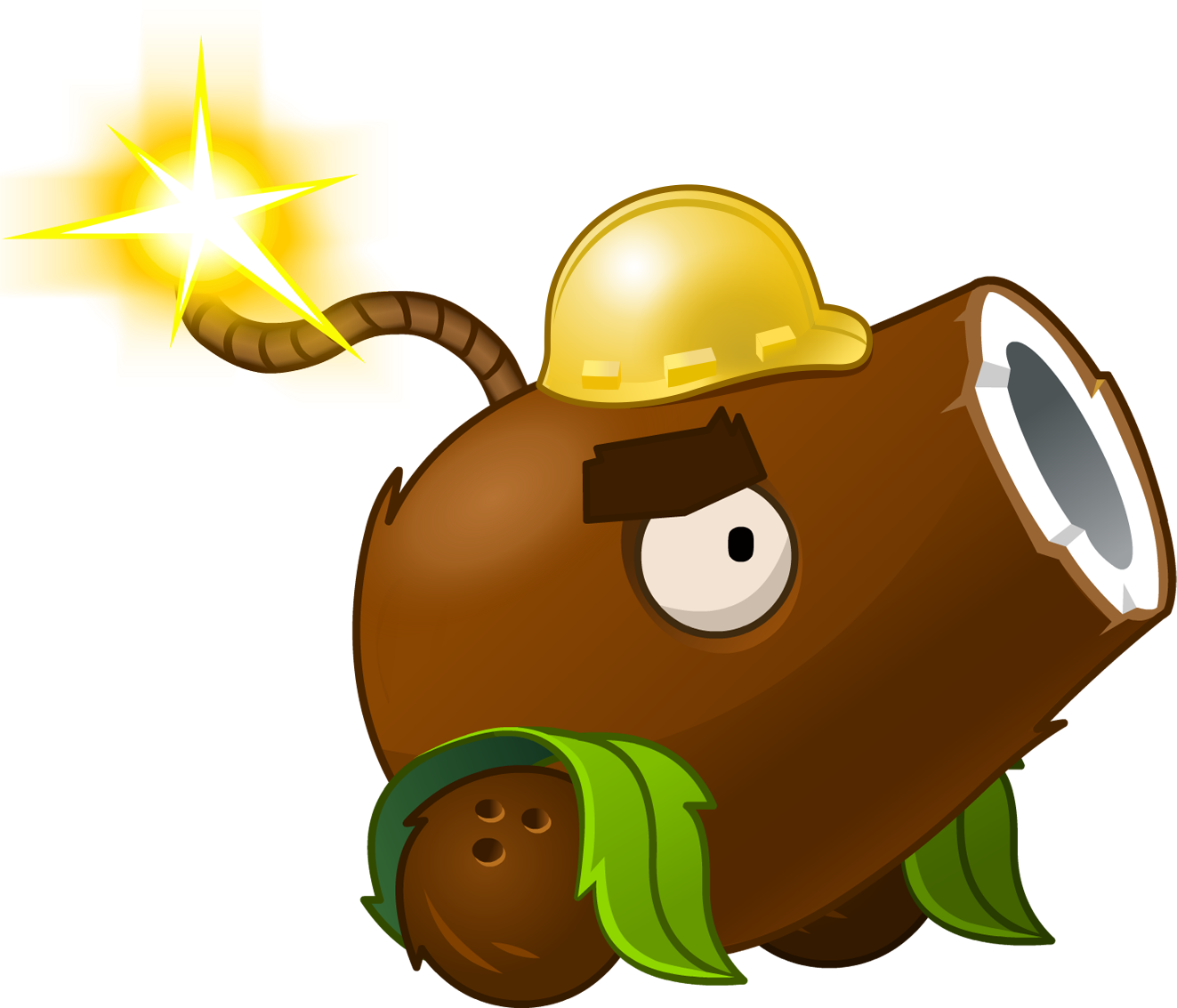 Image - Coconut Cannon(Halloween).png | Plants vs. Zombies Wiki ... graphic transparent library