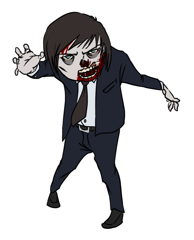 Halloween zombie clipart kid 2 - Clipartix graphic freeuse