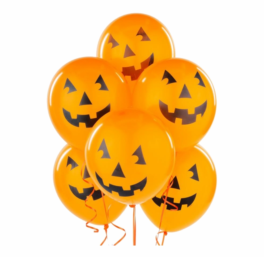 Halloweenballoons clipart clip art library download 600px Halloween Ball - Halloween Balloons Transparent Free PNG ... clip art library download