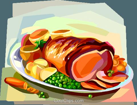 Ham dinner clipart png download Junk Food Cartoon clipart - Ham, Dinner, Food, transparent clip art png download