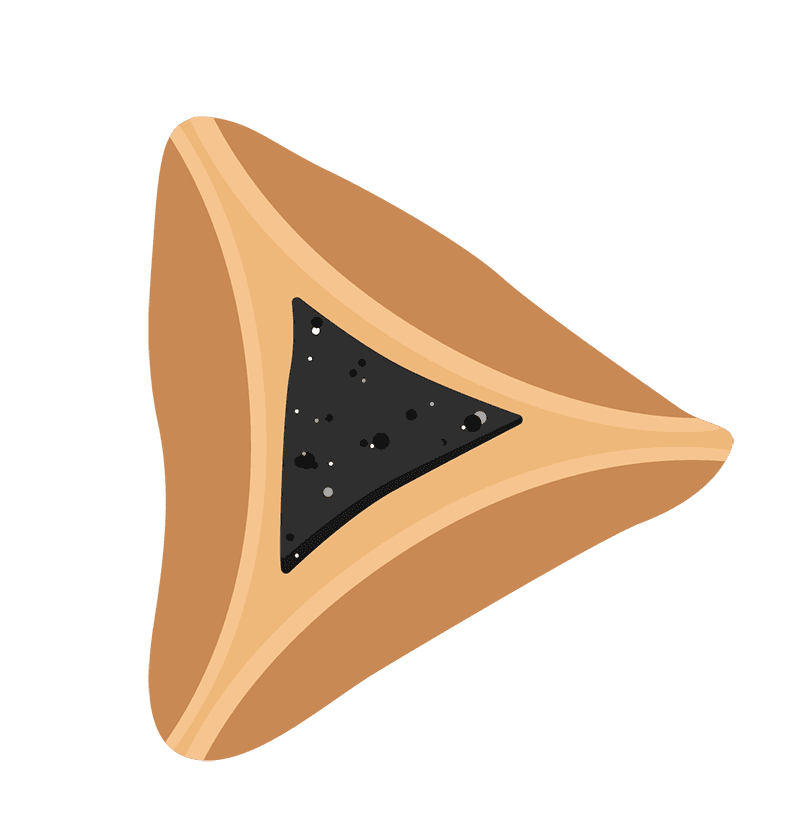 Hamantasch clipart png black and white stock LATKE vs HAMANTASH Movie png black and white stock