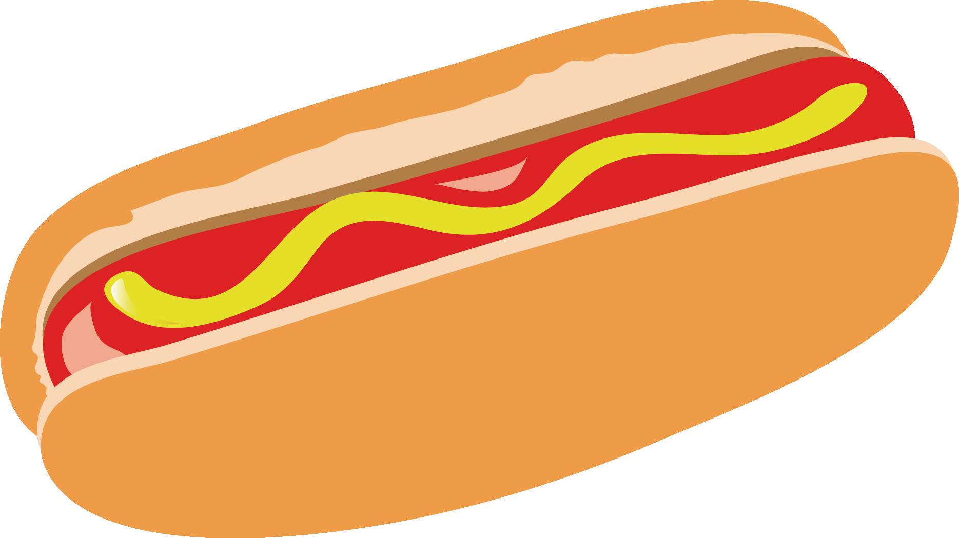 Hamburger and hot dog clipart clip art stock Hot dog Breakfast Hamburger Fast food - Ham breakfast 1869*1049 ... clip art stock