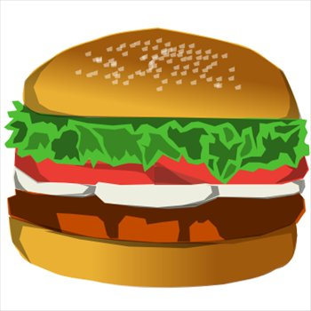 Hamburger free clipart banner download Hamburger Clipart | Free Download Clip Art | Free Clip Art | on ... banner download