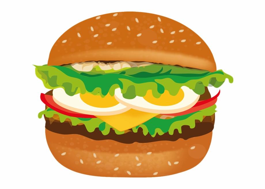 Hamburger sv clipart svg royalty free library Hamburger - Hamburger Clipart Transparent, Transparent Png Download ... svg royalty free library