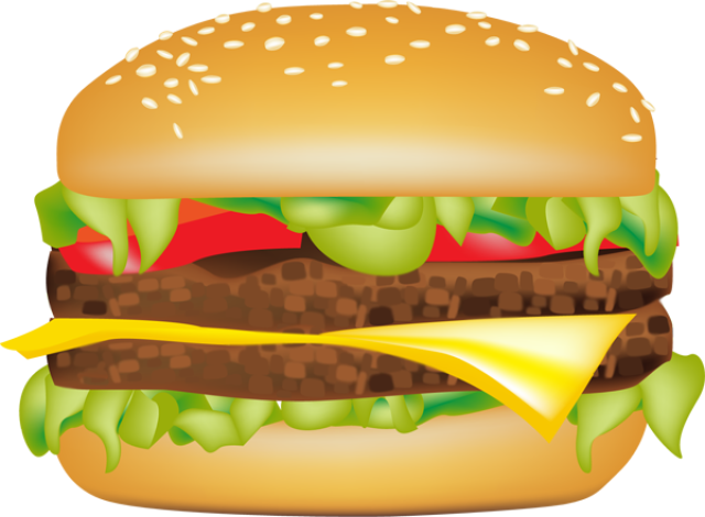 Hamburgers and fries clipart clip black and white stock Graphic Design | Clip Art Pictures in 2019 | Hamburger, Burger ... clip black and white stock