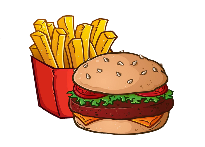 Hamburgers and fries clipart banner freeuse Hamburger and fries clipart clipart images gallery for free download ... banner freeuse