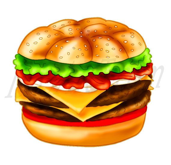 Hamburguer gourmet clipart image library Burger clipart, burger Clip art, Cheeseburger, Hamburger ... image library
