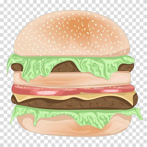 Hamburguer gourmet clipart jpg freeuse download Hamburger Cheeseburger Fast food Meat, Double gourmet Burger ... jpg freeuse download