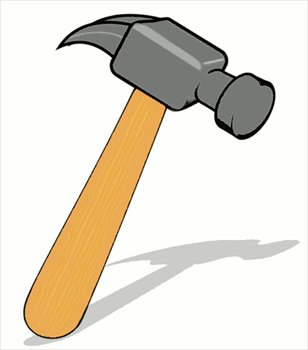 Wood mallet clipart picture black and white Free hammers clipart graphics images and photos - Cliparting.com picture black and white