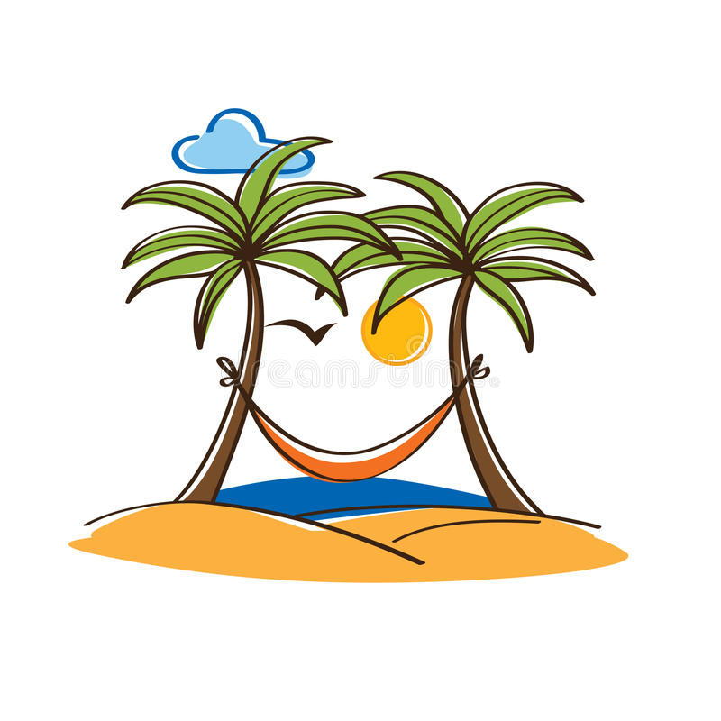 Hammock and trees clipart graphic royalty free library Palm tree hammock clipart 6 » Clipart Station graphic royalty free library