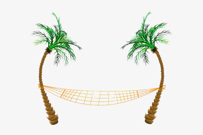Hammock and trees clipart clip art royalty free Beach Png Clipart - Palm Tree Hammock Clip Art - Free Transparent ... clip art royalty free