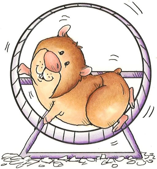 Hamster clipart free graphic black and white Free Cute Hamsters Cliparts, Download Free Clip Art, Free Clip Art ... graphic black and white