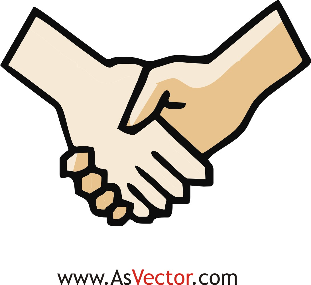 Hand by hand clipart picture royalty free stock Shake hand clipart - ClipartFest picture royalty free stock