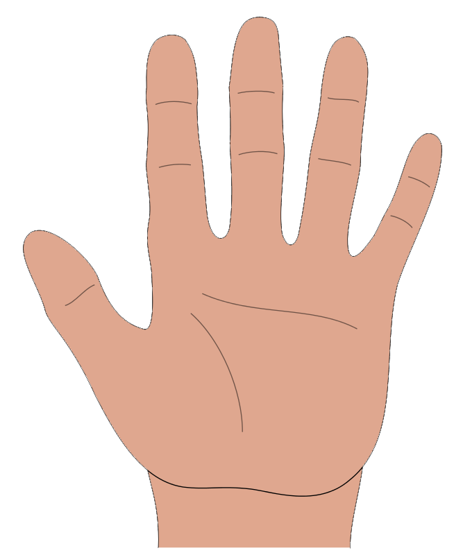 Hand cartoon clip art picture royalty free Clip Art Hand Cartoon Clipart - Clipart Kid picture royalty free
