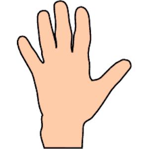 Hand cartoon clip art svg stock Clip Art Hands & Clip Art Hands Clip Art Images - ClipartALL.com svg stock