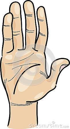 Hand cartoon clip art vector library Hand Clip Art Cartoon Illustration Stock Photography - Image: 32808542 vector library