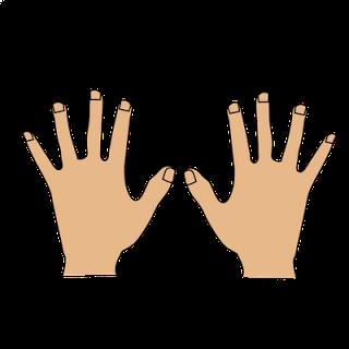 Hand cartoon clip art jpg transparent library Hands clip art hand cartoon clipart kid 2 - Clipartix jpg transparent library