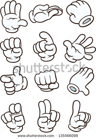 Hand cartoon clipart vector transparent stock Cartoon Hands Stock Images, Royalty-Free Images & Vectors ... vector transparent stock