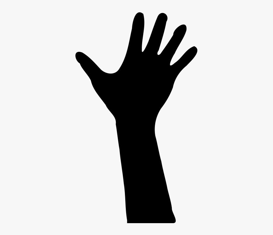 Hand clipart vector clipart transparent download Hand Clipart - Hand Silhouette Vector #8275 - Free Cliparts on ... clipart transparent download