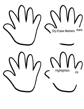Hand cut out clipart png freeuse Helping Hands Donation Cut-Outs and Template png freeuse