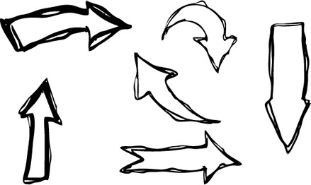 Hand drawn arrow clipart picture black and white download Hand drawn arrow clipart free vector download (10,581 Free vector ... picture black and white download