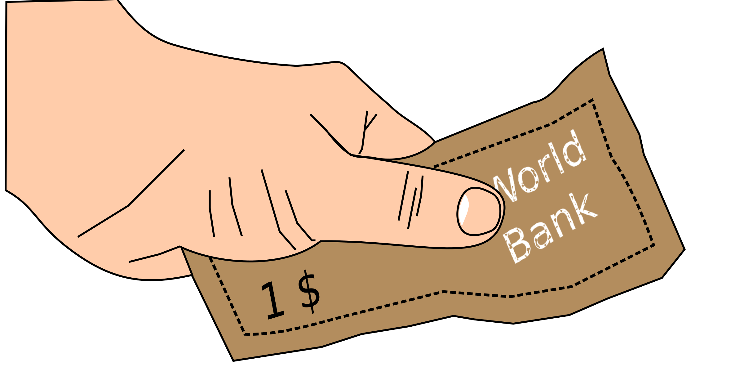 Hand with money clipart png library library Money in hand Icons PNG - Free PNG and Icons Downloads png library library