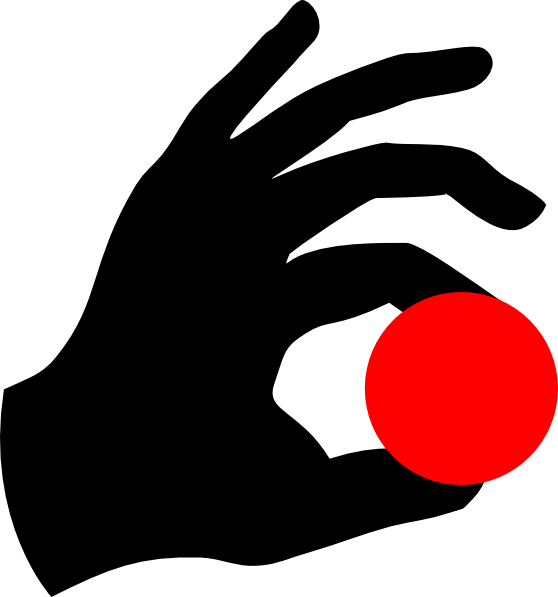 Hand holding an apple clipart png stock Magic Hand & Red Ball Clip Art at Clker.com - vector clip art online ... png stock