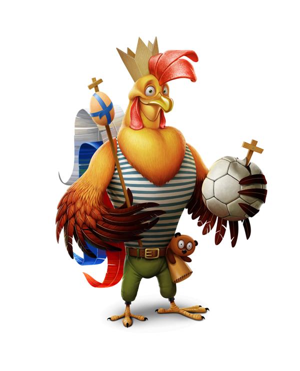 Hand holding football clipart svg library Chicken Illustrator Cartoon Illustration - Holding a football ... svg library