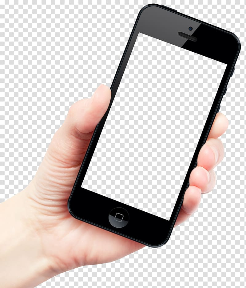 Hand holding iphone clipart png library download IPhone 6 Plus Smartphone Telephone, Hand Holding Smartphone, person ... png library download