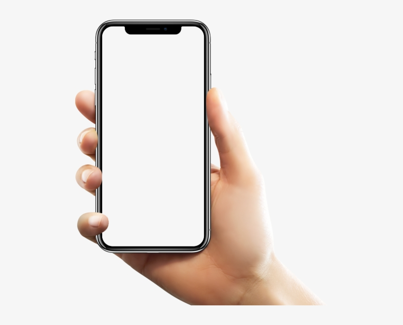 Hand holding iphone x clipart image library Phone In Hand Png Image - Snapchat On Iphone X PNG Image ... image library