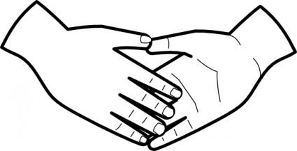 Hand i hand clipart jpg black and white Hand hold clipart - ClipartFest jpg black and white