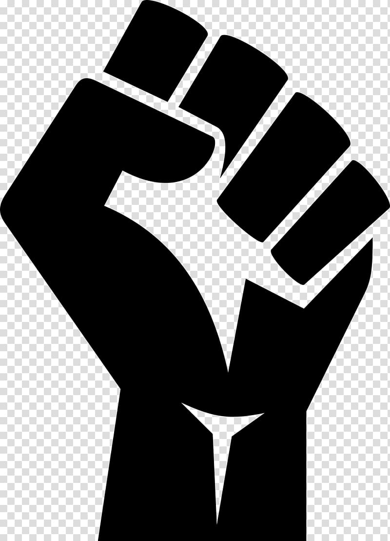 Hand in fist clipart svg library library Hand illustration, Raised fist Black Power , raise transparent ... svg library library